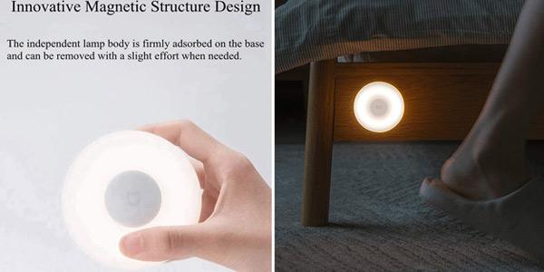 Lámpara LED Xiaomi Night Light 2 activada con movimiento chollo en Amazon