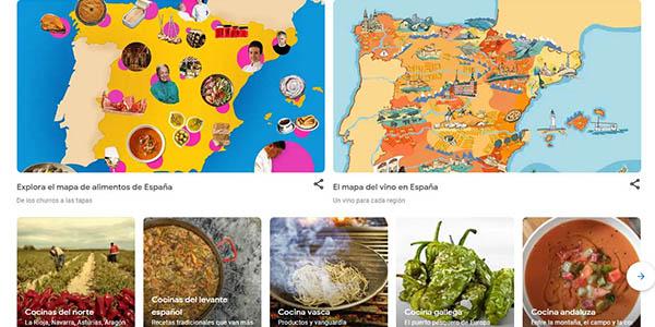 Maravillas de España visita virtual