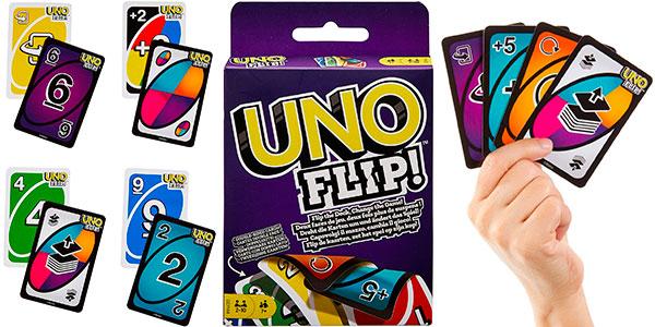 Chollo Juego de cartas UNO Flip!