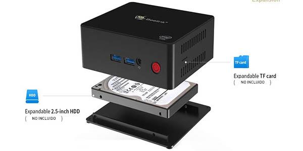 Mini PC Beelink J45 (Pentium J4205, 8GB DDR3L + 128GB SSD) en Amazon