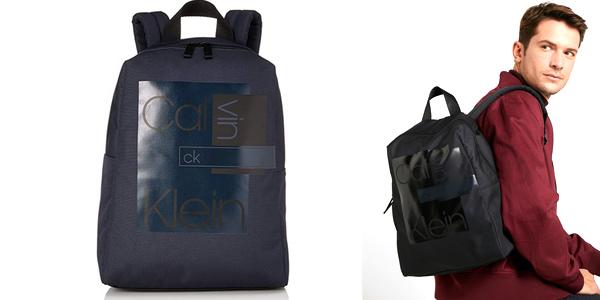 Mochila Calvin Klein Layered Round Backpack para hombre barata en Amazon