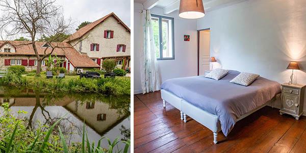 Le Moulin Saubrigues hotel barato en Bayona Francia