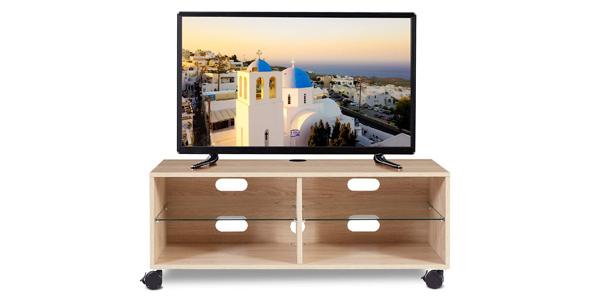 Mueble TV Modular RFiver con Ruedas barato en Amazon