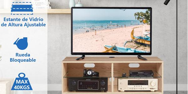 Mueble TV Modular RFiver con Ruedas chollazo en Amazon