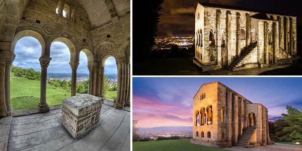 Oviedo ruta arte prerrománico a Santa María del Naranco con alojamientos económicos