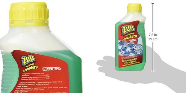 Pack x2 Insecticida Fregasuelos Zum de 500 ml/ud chollo en Amazon