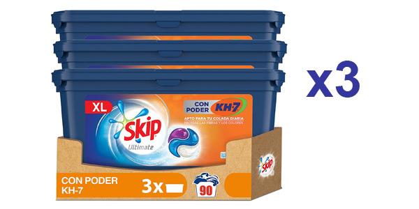 Pack x90 Skip Capsulas Ultímate Poder KH7 barato en Amazon