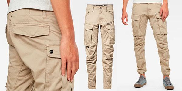 Pantalones G-Star Raw Rovic para hombre en oferta