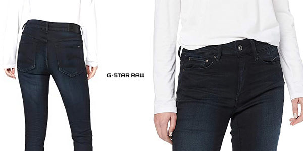 Vaqueros G-Star Raw High Waist Skinny para mujer chollo en Amazon
