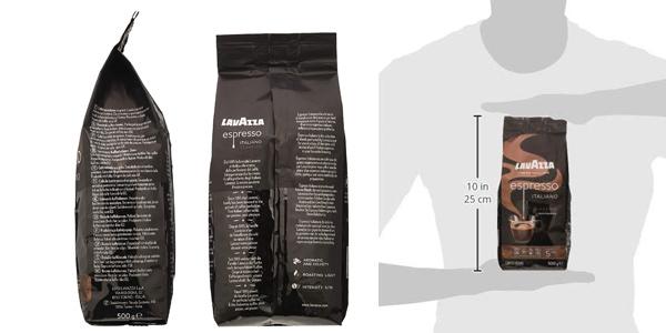 Paquete de Café en Grano Lavazza Caffè Espresso de 500 gr chollo en Amazon