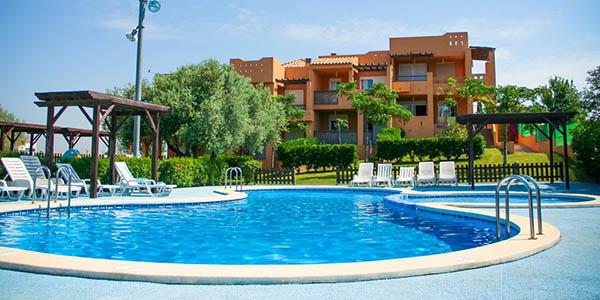 Peñíscola apartamento con piscina para grupos barato