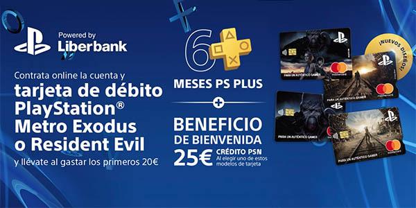 Tarjeta PlayStation Liberbank