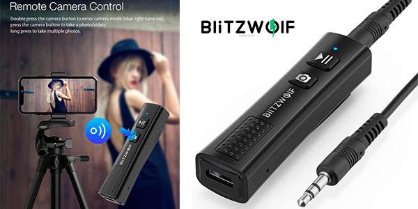 Receptor Bluetooth 5.0 BlitzWolf BW-BR0 barato