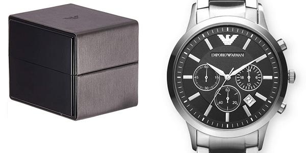 Reloj Cronógrafo Emporio Armani AR2434 para hombre barato en Amazon