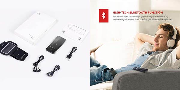 reproductor Victure por Bluetooth de buena calidad de sonido oferta