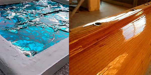 Resina epoxi transparente para bricolaje de 800 gr barata
