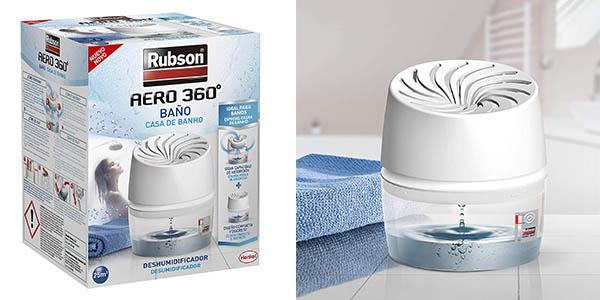 Rubson Aero 360 deshumidificador portátil baño oferta
