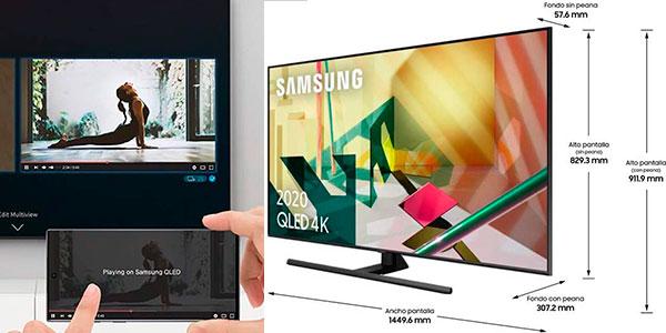 Smart TV Samsung QLED 65Q70T UHD 4K