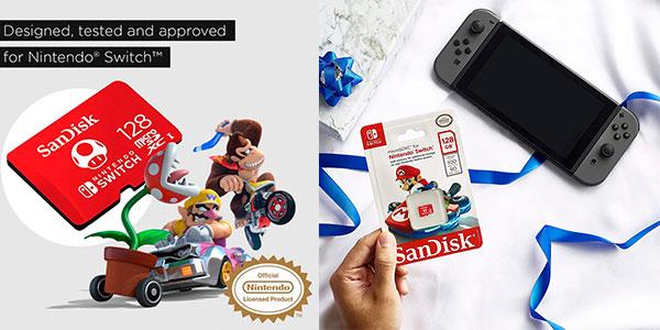 Tarjeta SanDisk microSDXC de 128 GB para Switch barata