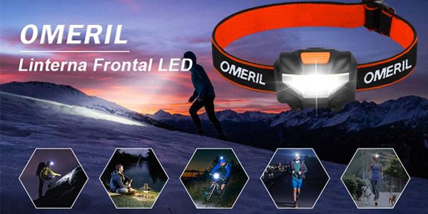 Pack x2 Linternas Frontales LED Omeril chollo en Amazon