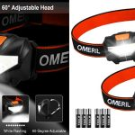 Pack x2 Linternas Frontales LED Omeril barato en Amazon