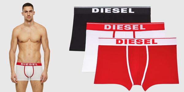 Pack x3 Bóxer Diesel para hombre baratos en Amazon