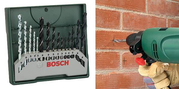 set de brocas mixto Bosch Mini X Line oferta