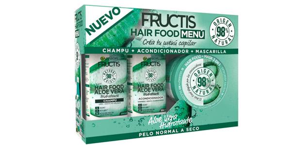 Set Fructis Hair Food Menú Aloe Vera barato en Amazon