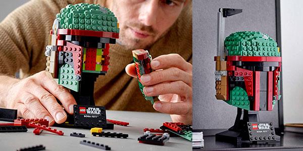 Set Casco de Boba Fett de LEGO Star Wars barato
