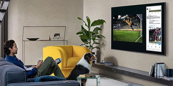 Smart TV Q75T QLED Samsung UHD 4K IA chollazo en El Corte Inglés