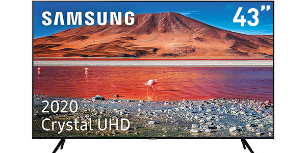 "Smart TV Samsung Crystal 43TU7005 UHD 4K HDR de 43"""