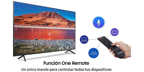 """Smart TV Samsung Crystal 43TU7005 UHD 4K HDR de 43"""" en Amazon"""