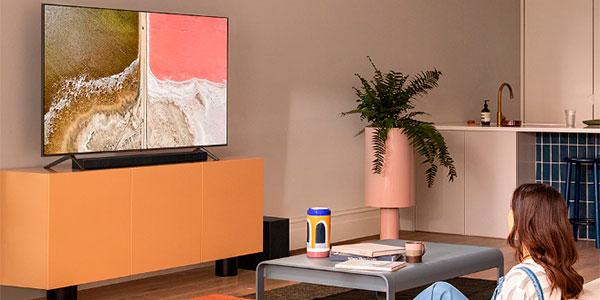 """Smart TV Samsung QE55Q60T 2020 QLED UHD 4K de 55"""" con Alexa barata"""