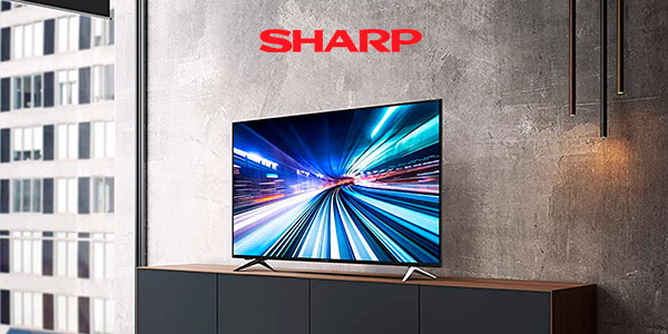"Smart TV Sharp LC-60UI9362E UHD 4K HDR de 60"" barata"
