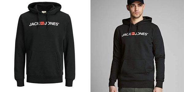 Sudadera Jack & Jones logo con capucha barata en Amazon