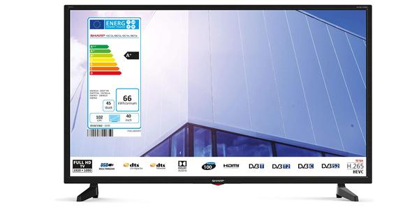 """Televisor Sharp 40CF3E 2020 de 40"""" LED Full HD barato en Amazon"""