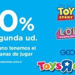 ToysRus promoción en la segunda unidad en juguetes junio 2020