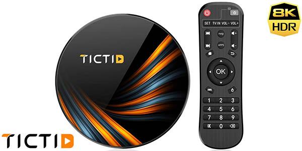 Smart TV Box 8K TICTID con Android 9.0