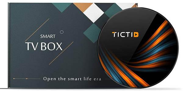 Smart TV Box 8K TICTID barato
