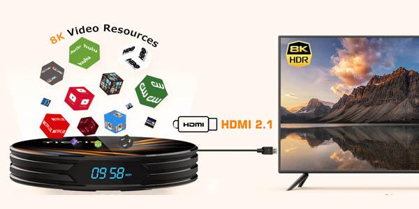 Smart TV Box 8K TICTID en Amazon