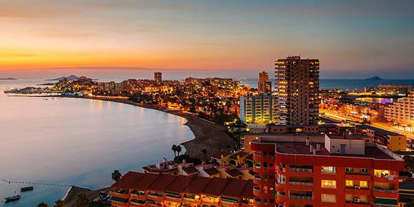 vacaciones baratas en La Manga del Mar Menor hotel de primera categoría