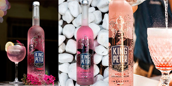 Vodka rosé King Peter The Great de 3 litros barato