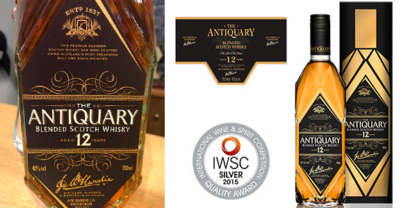 Whisky The Antiquary 12 Years de 700 ml barato