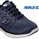 Zapatillas Skechers Flex Advantage 3.0 Stally Walking Shoes para hombre baratas en Amazon