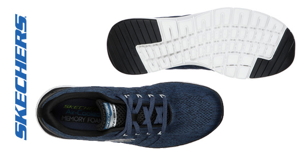 Zapatillas Skechers Flex Advantage 3.0 Stally para hombre chollazo en Amazon