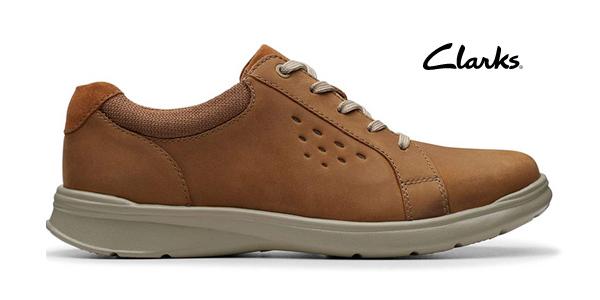 Zapatos de cordones Clarks Cotrell Stride para hombre baratos en Amazon