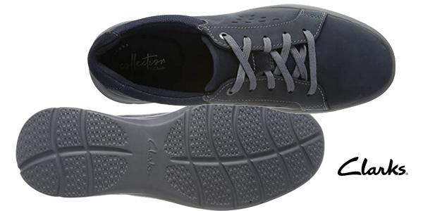 Zapatos de cordones Clarks Cotrell Stride para hombre chollo en Amazon