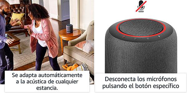 Altavoz inteligente Amazon Echo Studio con sonido de alta fidelidad y Alexa barato