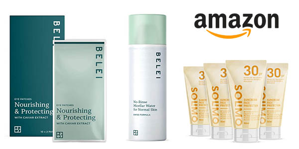 Amazon productos de belleza marcas propias promoción