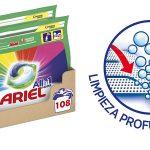 Ariel Pods 108 lavados al mejor precio en Amazon